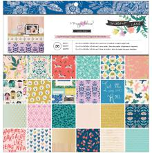 Maggie Holmes Single-Sided Paper Pad 12X12 48/Pkg - Willow Lane