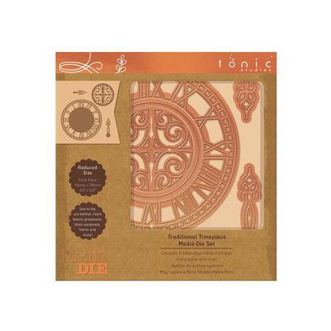 Tonic Studios Media Die - Traditional Timepiece 2329E