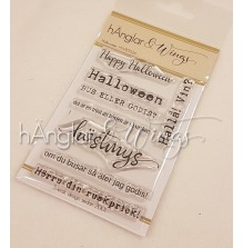 hÄnglar & Wings Clear Stamps - Halloween A7