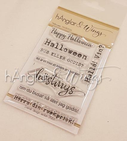 hÄnglar & Wings Clear Stamps - Halloween A7