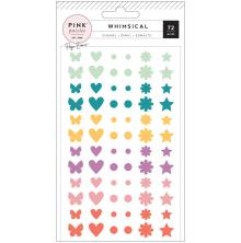 Paige Evans Enamel Shapes 72/Pkg - Whimsical
