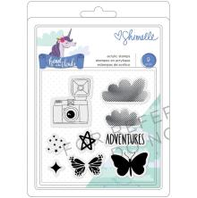 Shimelle Clear Acrylic Stamps - Head In The Clouds