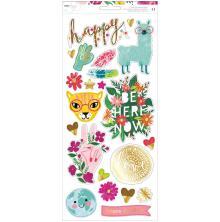 Dear Lizzy Cardstock Stickers 6X12 41/Pkg - New Day