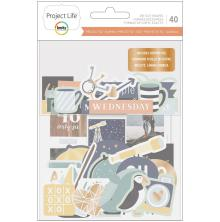 Project Life Ephemera Die-Cut Shapes 40/Pkg - Daring