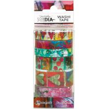 Dina Wakley Media Washi Tape - Set 3