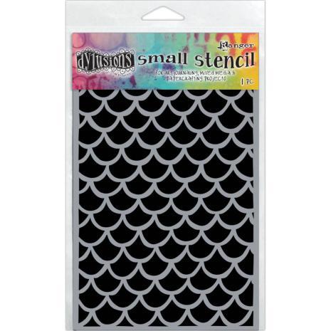 Dylusions Stencil 5X8 - Fishtails