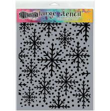 Dyan Reaveleys Dylusions Stencils 9X12 - Snowflake