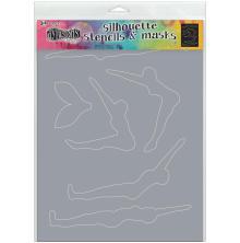 Dyan Reaveleys Dylusions Stencils 9X12 - Make A Splash
