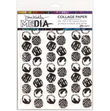 Dina Wakley Media Tissue Pack 7.5X10 20/Pkg  - Backgrounds