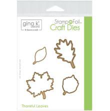Gina K Designs Die Set - Thankful Leaves