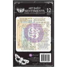 Prima Art Daily Planner Sticker Pad 4.5X7.5 12/Pkg - Sentiments