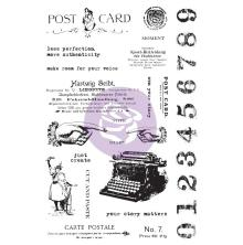 Prima Art Daily Planner Rubber Stamps - Carte Postale