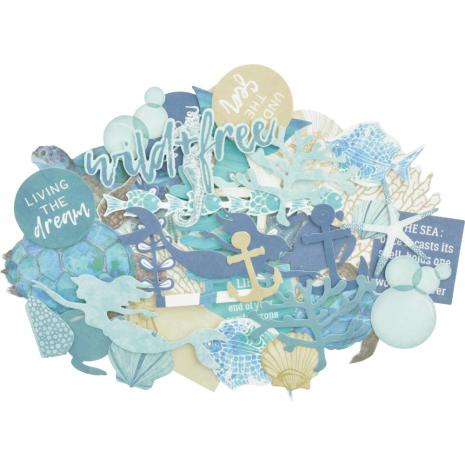 Kaisercraft Collectables Cardstock Die-Cuts - Deep Sea