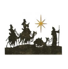 Tim Holtz Sizzix Thinlits Die Set 2/Pkg - Wise Men