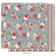 Maja Design Christmas Season 12X12 - Winter Roses
