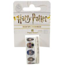 Paper House Washi Tape 2/Pkg Harry Potter - Chibi