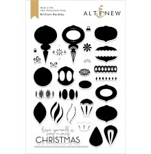 Altenew Clear Stamps 6X8 - Brilliant Baubles