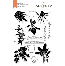 Altenew Clear Stamps 6X8 - Potted Plants