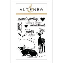 Altenew Clear Stamps 4X6 - Modern Deer