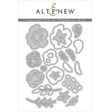 Altenew Die Set - Layered Floral Elements