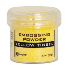 Ranger Embossing Powder 18gr - Yellow Tinsel