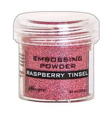 Ranger Embossing Powder 18gr - Raspberry Tinsel