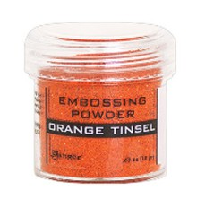 Ranger Embossing Powder 18gr - Orange Tinsel