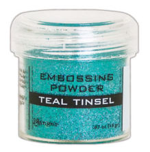 Ranger Embossing Powder 18gr - Teal Tinsel