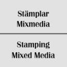Stämplar Mixmedia