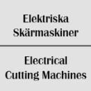 Elektriska skärmaskiner