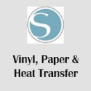 Vinyl, Heat transfer & Papper
