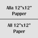 """Alla 12""""x12"""" papper"""
