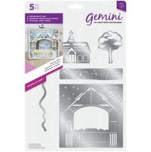 Gemini Build-a-Scene Christmas Create a Card - Kissing Gate