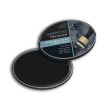 Spectrum Noir Inkpad Harmony Water Reactive - Noir Black