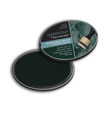 Spectrum Noir Inkpad Harmony Water Reactive - Smoke Emerald