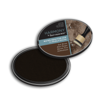 Spectrum Noir Inkpad Harmony Water Reactive - Seal Brown