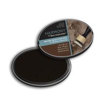 Spectrum Noir Inkpad Harmony Water Reactive - Seal Brown