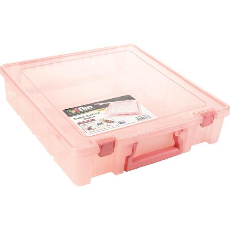 Artbin Super Satchel Single Compartment 15.25X14X3.5 - Blush