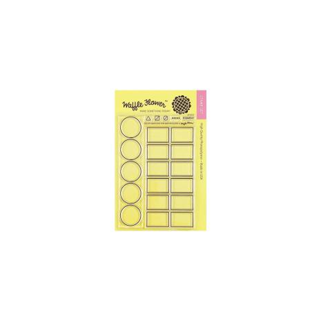Waffle Flower Crafts Clear Stamp 4X6 - Color Swatches For Watercolors