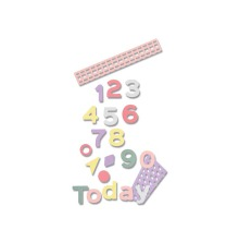 Sizzix Thinlits Die Set 16PK - Pop Art Numbers 19-01