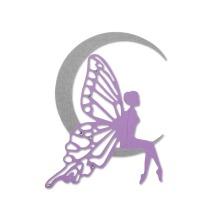 Sizzix Thinlits Die - Fairy Moon 19-01