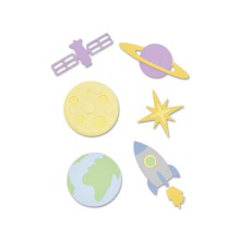 Sizzix Thinlits Die Set 11PK - Space 19-01