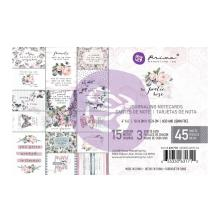 Prima Marketing Journaling Cards Pad 4X6 45/Pkg - Poetic Rose