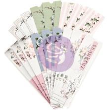 Prima Marketing Die-Cut Paper Tickets 36/Pkg - Poetic Rose