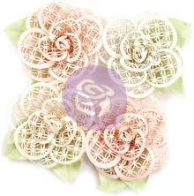 Prima Marketing Poetic Rose Paper Flowers 4/Pkg - Beautiful Melody UTGÅENDE