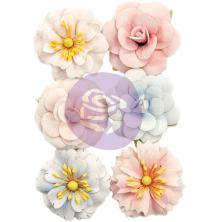Prima Marketing Poetic Rose Paper Flowers 6/Pkg - Roses For You UTGÅENDE