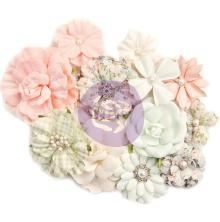 Prima Marketing Poetic Rose Paper Flowers 12/Pkg - Classic Beauty UTGÅENDE