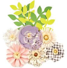 Prima Spring Farmhouse Paper Flowers 10/Pkg - Gather
