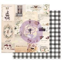 Prima Spring Farmhouse Double-Sided Cardstock 12X12 - Beautiful Life UTGÅENDE