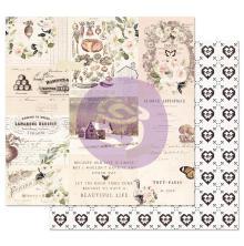 Prima Spring Farmhouse Double-Sided Cardstock 12X12 - Wander UTGÅENDE